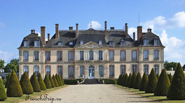 Замок Ла Мот-Тильи (Château de La Motte-Tilly), Шампань, Франция