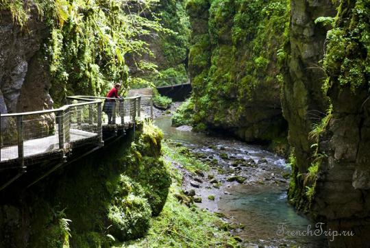 7) Gorges de Kakouetta - 10 лучших ущелий Франции