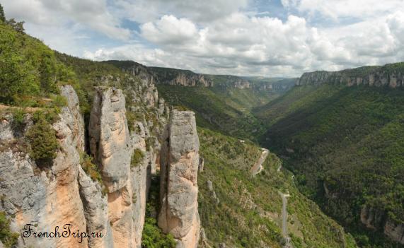 4) Gorges de la Jonte - 10 лучших ущелий Франции