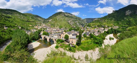 3) Gorges du Tarn - 10 лучших ущелий Франции