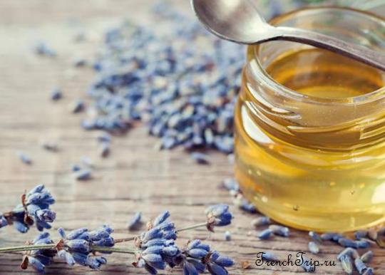 Лавандовый мед, сувениры из прованса, кухня прованса