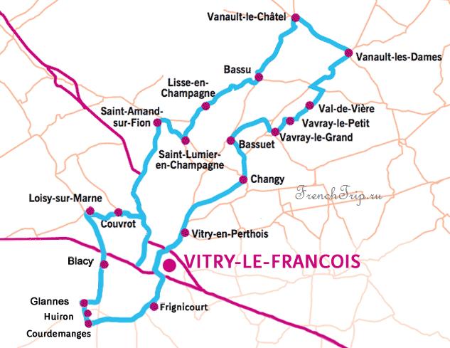 Дорога шампанского - Route Touristique Du Champagne