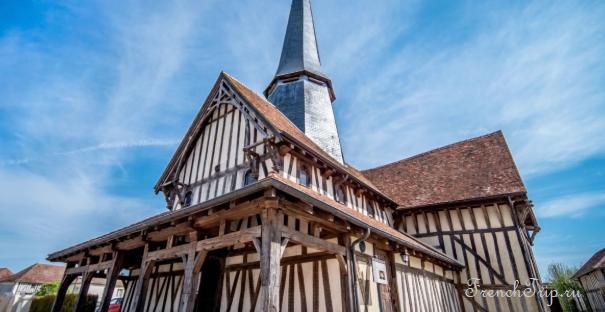 Route des Eglises à pans de bois de Champagne - Eglise de Longsols