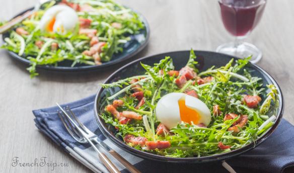 Salade de Pissenlit Nancy Cuisine Lorraine Cuisine