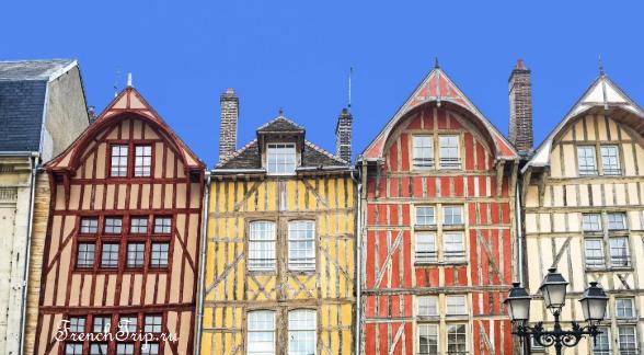 Труа (Troyes), регион Шампань-Арденны, Франция