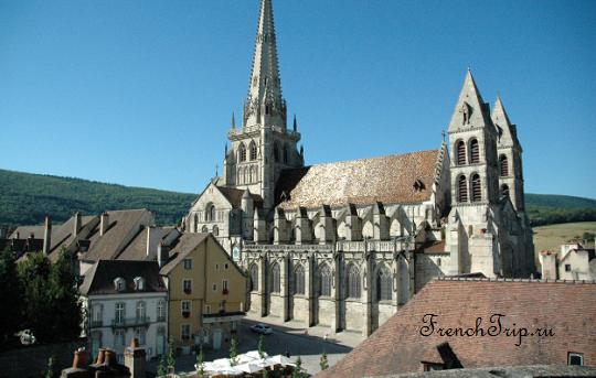 История Отена (Autun), Бургундия, Франция - достопримечательности