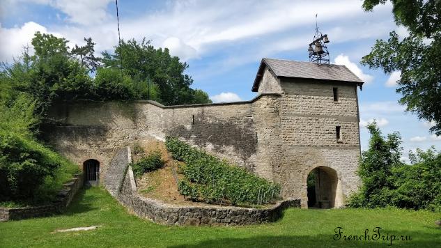 Château de Bar sur Seine