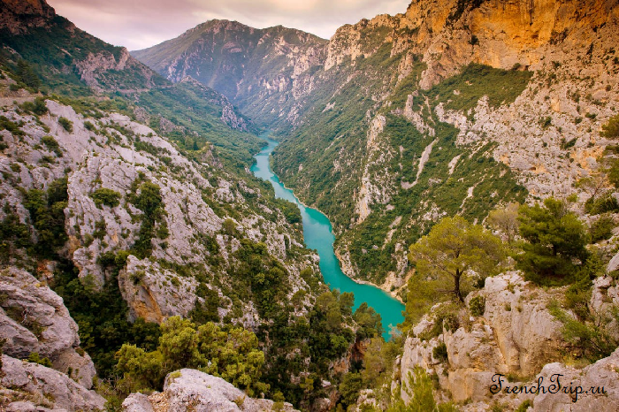 Gorges du Verdon (Вердонское ущелье)