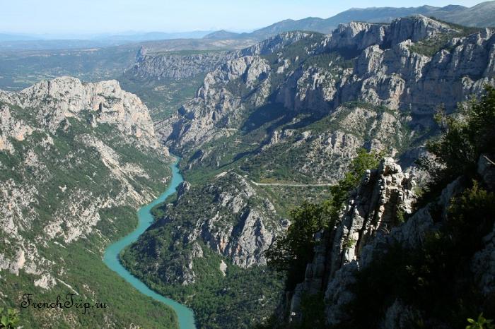 Gorges du Verdon (Вердонское ущелье), Прованс, Франция - самые зрелищные и красивые достопримечательности Франции