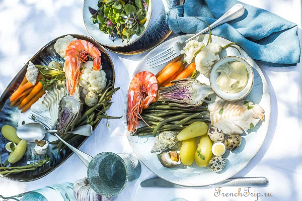 Кухня Марселя, французская кухня, айоли, рыба