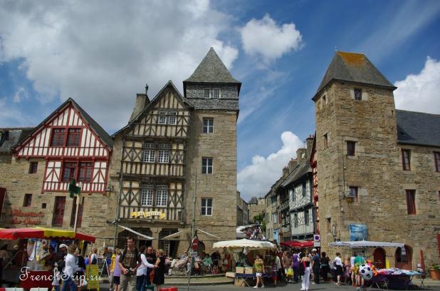 Tréguier (Трегье), Бретань, Франция