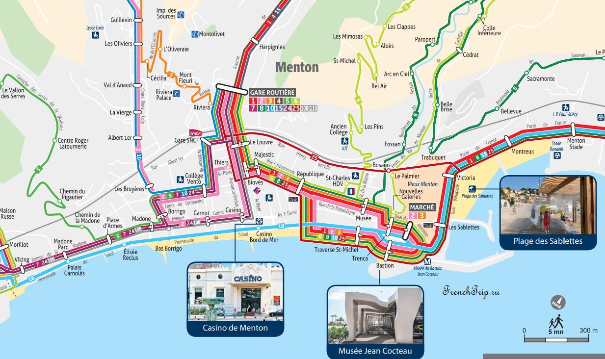 Схема маршрутов автобусов в центре Ментона - FrenchTrip.ru - Автобусы по городу Ментон: расписание всех автобусов, схема маршрутов автобусов по Ментону, городской транспорт Ментона и Монако, как добраться от вокзала, транспорт Ментон, автобусы Ментон, расписание автобусов Ментон, схема маршрутов ментон, автобус ментон монако, автобус ментон монте карло, menton, menton travel guide, menton france, bus menton, public transport menton, bus timetable menton, public transport map menton, free download, бесплатно скачать, карта транспорта Ментон, ментон, ментон франция, города франции, путеводитель по ментону, путеводитель по франции, лазурный берег, транспорт лазурного берега, автобусы лазурный берег, лазурный берег франции, как добраться, автобусы из монако, монако лазурный берег, прованс, прованс франция, города прованса, города лазурного берега, транспорт прованс, автобусы прованс, путеводитель прованс, путеводитель лазурный берег