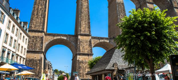 Morlaix (Морле), Бретань, Франция - достопримечательности, путеводитель по городу