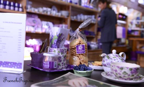 Фиалка Тулузы (La Violette de Toulouse) - необычный сувенир и традиционное блюдо Тулузы. Путеводитель по городу Тулуза. Как приготовить засахаренные фиалки