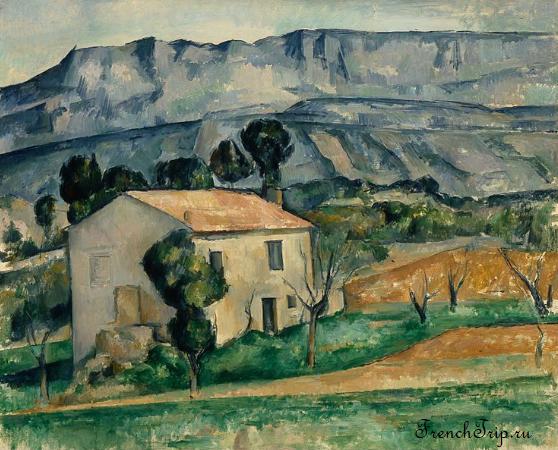 Aix-en-Provence Paul Cezanne painting