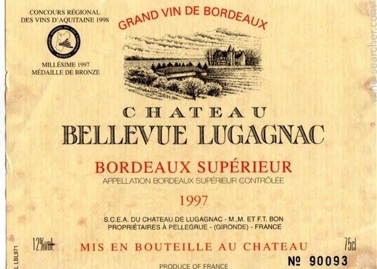 Виноградники Bordeaux и Bordeaux Supérieur (AOC)