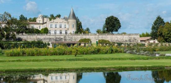 Medoc AOC vineyards - виноградники Медок - Château Lafite-Rothschild 1