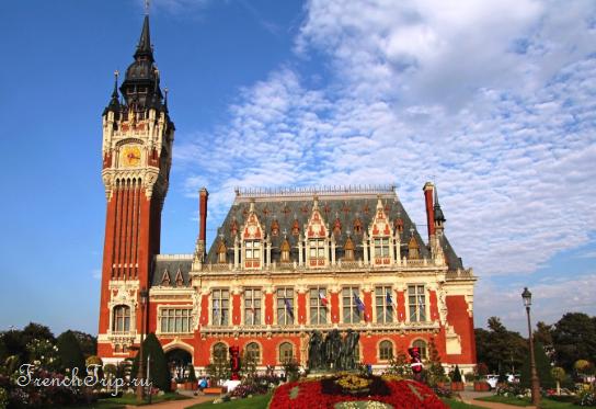 Calais (Кале) - город в регионе Норд-Па-де-Кале (Hauts-de-France)