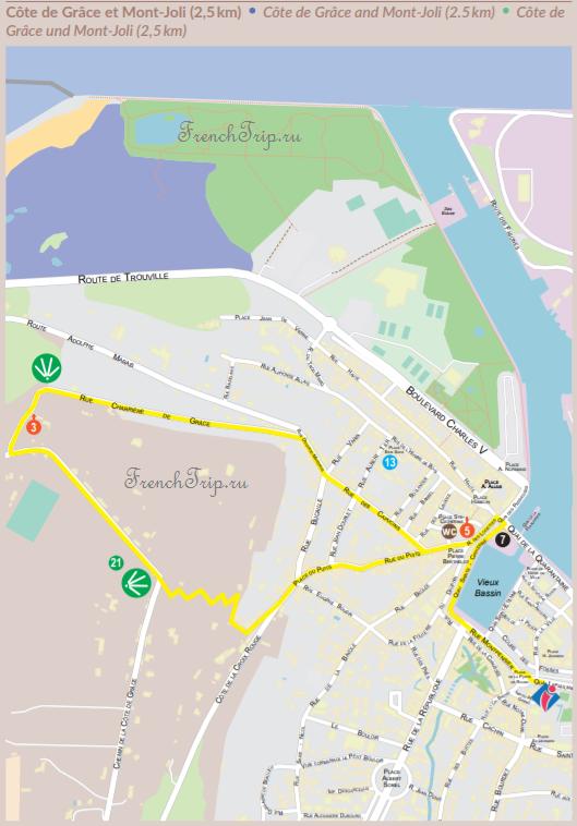 Honfleur walking tour - Côte de Grâce and Mont-Joli (2.5km)