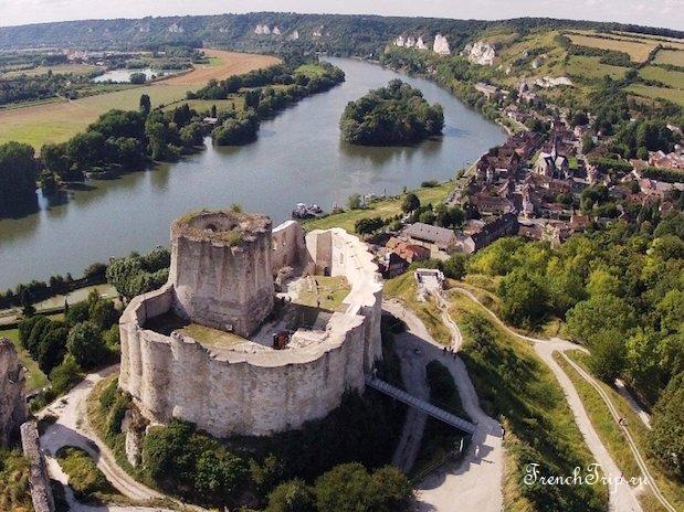 Chateau Gaillard (Шато Гайар), Нормандия