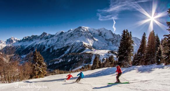 Les Houches Slopes Ski Resort Chamonix