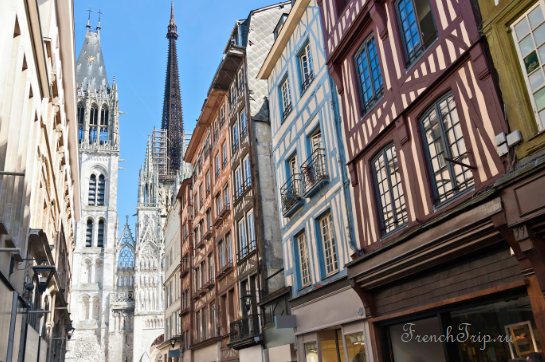 Руан, Нормандия, Франция - путеводитель по городу, достопримечательности, Руанский собор