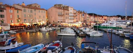 Сен-Тропе (Saint-Tropez), Лазурный берег Франции - путеводитель по городу - 10 лучших рыбацких городов Франции