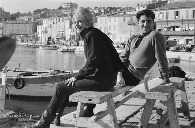 Сен-Тропе (Saint-Tropez), Лазурный берег Франции - путеводитель по городу - Saint-Tropez-Brigit-Bardot