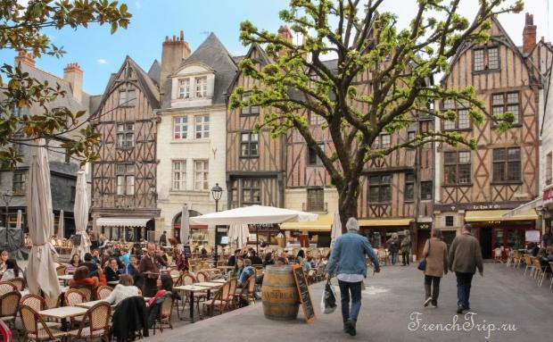 Tours (Тур) и замки Луары, Франция