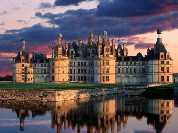 Chateau de Chambord (Замок Шамбор), Centre (Регион Центр), Франция