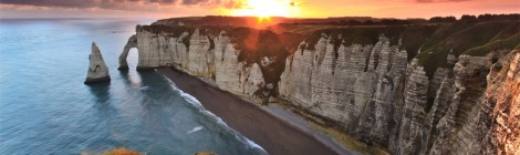 Алебастровые скалы Нормандии