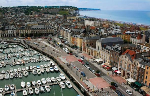 Dieppe (Дьепп), Франция- достопримечательности, путеводитель по городу