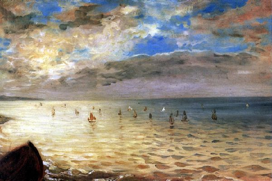Dieppe - эжен делакруа море в дьеппе