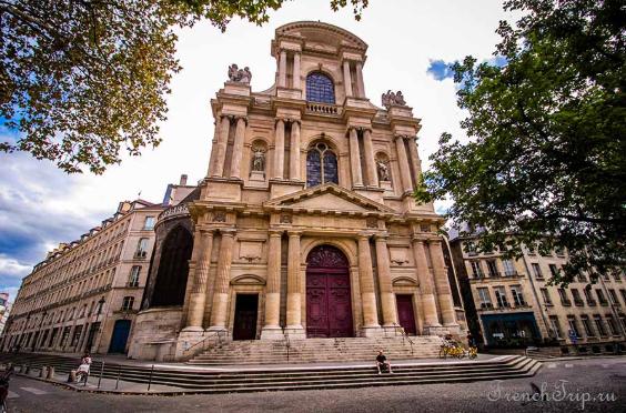 Paris Eglise St-Gervais-St-Protais Marais