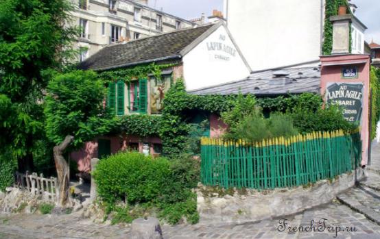 Paris Monmartre Au Lapin Agile