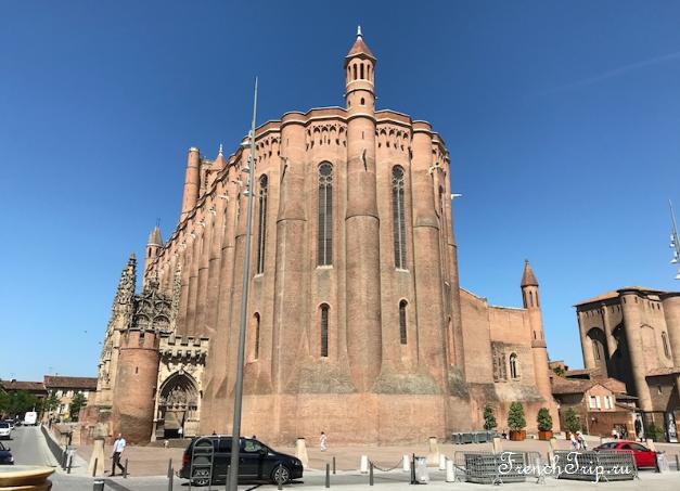 Достопримечательности Альби Albi old town cathedral