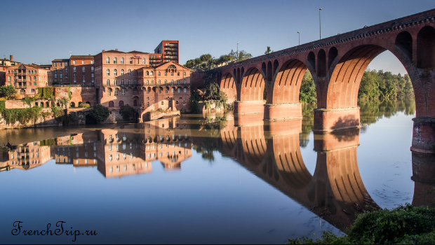Albi_les Moulins Albigeois, Pont Neuf, Albi travel guide