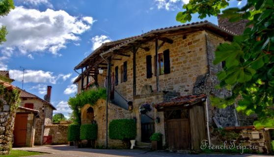 Cardaillac (Кардаяк), Окситания, в окрестностях Тулузы, самые красивые деревни Франции