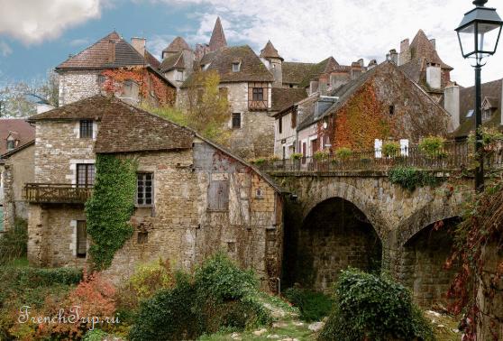 Одна из самых красивых деревень Франции (Les Plus Beaux Villages de France), Carennac (Кареннак)