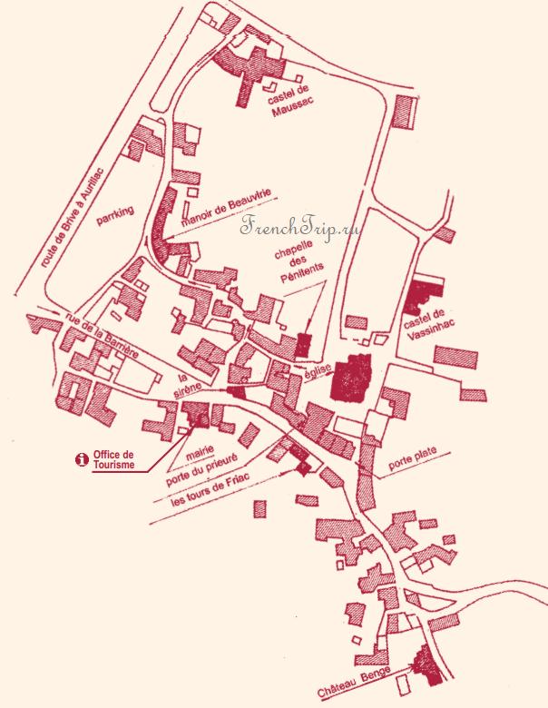 Collonges la Rouge_map