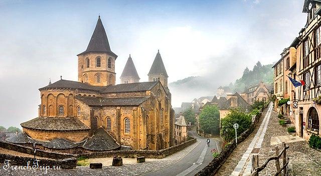 Conques - abbey church
