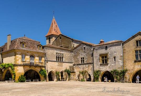Monpazier (Монпазье), Дордонь, Аквитания, Франция - достопримечательности, путеводитель по городу