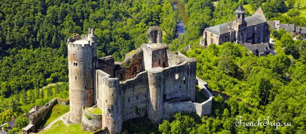 Najac-chateau