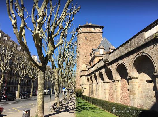 Rodez (Родез) - путеводитель по городу и Франции