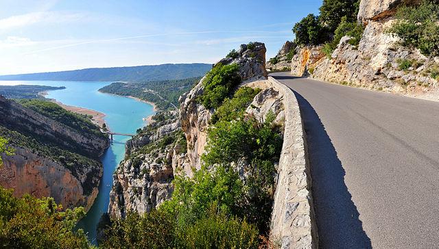 1) Gorges du Verdon - 10 лучших ущелий Франции, самое красивое ущелье во Франции