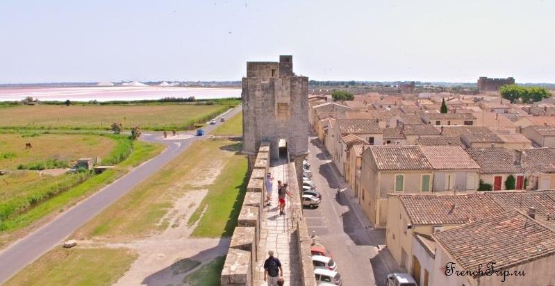 Aigues-Mortes - ,города-бастиды - Эг-Морт на окраине Камарга