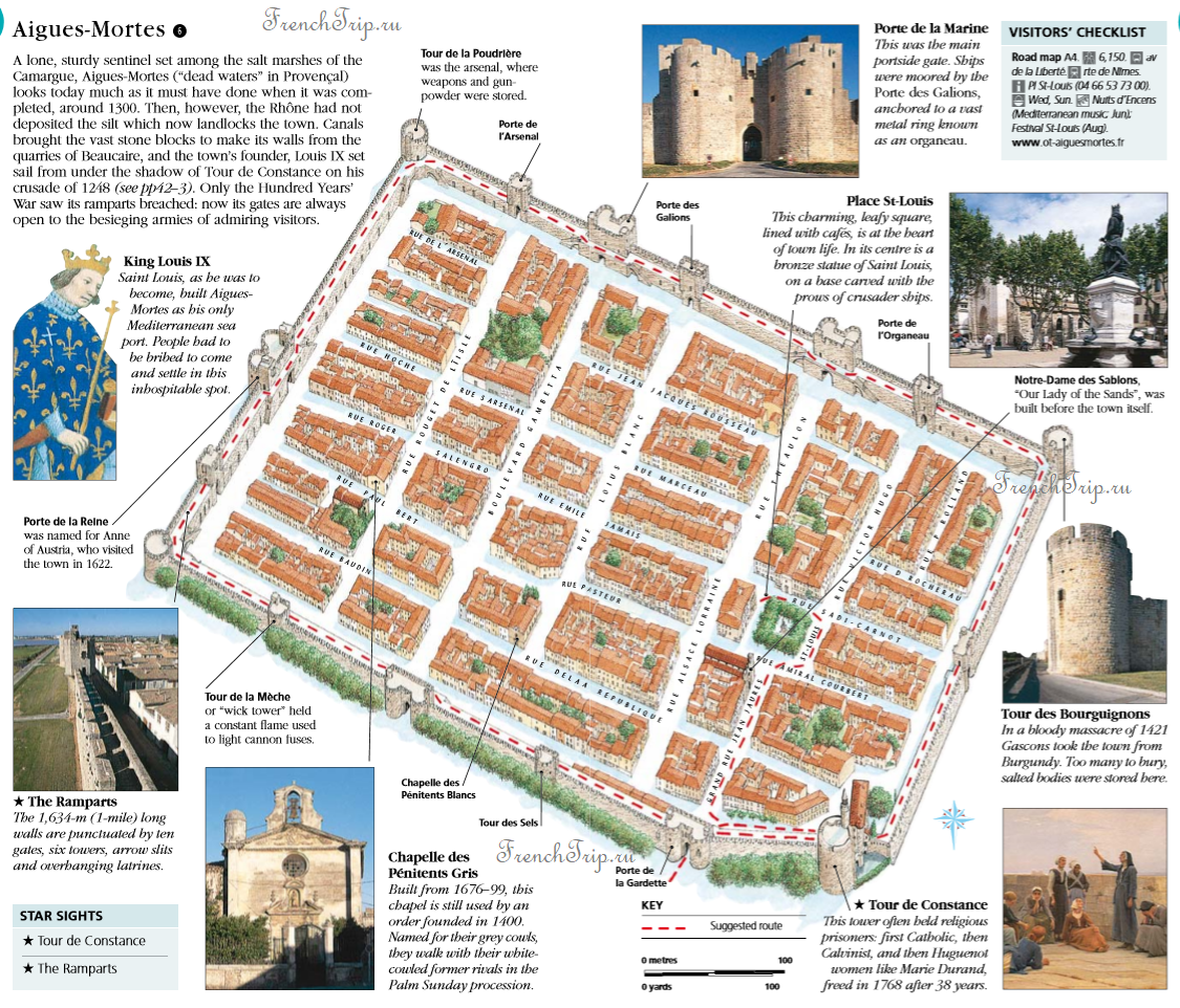 Aigues-Mortes street by street