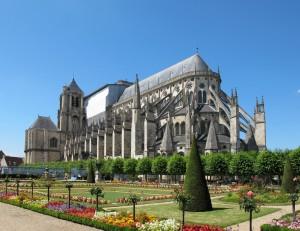 Bourges (Бурж) - в окрестностях Орлеана