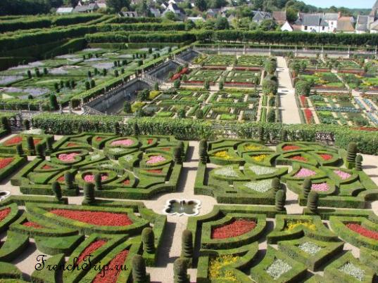 Château de Villandry - Замок Вилландри и сады, Франция - замки долины Луары. Что посмотреть, как добраться, билеты. Путеводитель по долине Луары и Франции
