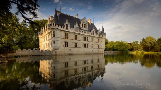 Azay-le-Rideau (Азе-ле-Ридо), Château Azay-le-Rideau - замок Азе-ле-Ридо